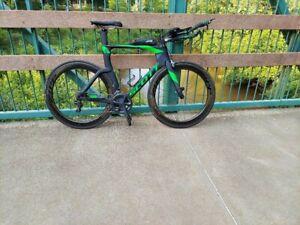 Scott Plasma 10 Triathlon Bike with Zipp wheels, Original Owner