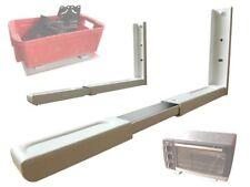 Mikrowellenhalter Küchen Halterung Mikrowelle Microwelle Befestigung weiß H71W