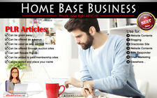 1200+ PLR Articles on Home Base Business Niche Private Label Rights
