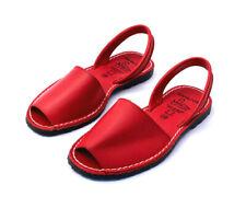 Avarcas Espandrilles Damen Leder Sandalen Ladies Leather Sandals Sling Spain 37