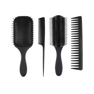 4Pcs Hair Brush Pk Hair Comb for Women and Detangling Paddle Brush All Type Hair