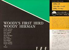 WOODY HERMAN & HIS 1ST HERD ON V-DISC-DAN JAPANESE LP MINT ORIG WRAP