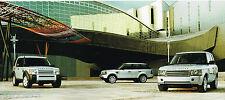 2006 Land Rover RANGE ROVER Brochure/Catalog: HSE, LR3 se, LR-3, SPORT,V6,V8,