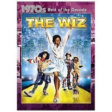 The Wiz - DVD Region 1, WS Diana Ross Michael Jackson NEW