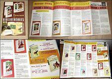 Catalogue dépliant illustré Livres de Bibliothèque Jeunesse mars 1962 Delagrave