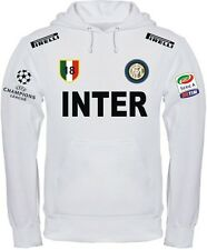 INTER FELPA FULL ZIP CON CAPPUCCIO CHAMPIONS LEAGUE
