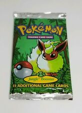 RARE ORIGINAL POKEMON JUNGLE BOOSTER PACK BRAND NEW FACTORY SEALED FLAREON ART