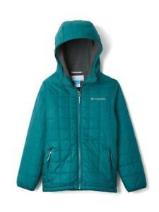 COLUMBIA Big Boy's S, M, L, XL Rugged Ridge Sherpa Lined Hooded Jacket NWT $100