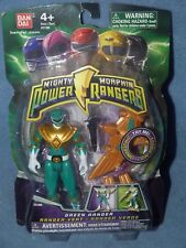 Mighty Morphin Power Rangers Green Ranger With Light Up Dino Flyer 2010 New