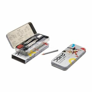 Doms Mathematical Drawing instrument box Steel Pencil box