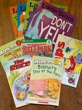 Lot of Concept Literacy Beginner Reading Books