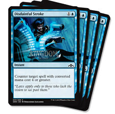 4x Disdainful Stroke - Guilds of Ravnica - NM - English - MTG