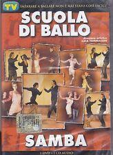 Dvd video + Cd audio «SCUOLA DI BALLO ♥ SAMBA» nuovo