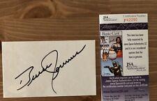 Bruce Jenner Caitlyn Jenner Olympic Gold Medal Signed JSA Autograph Index Card