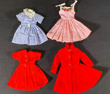 Vintage Barbie Skipper Mattel 1963 Doll Dress Coat Outfits Clothes