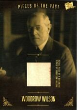 PIECES OF THE PAST VOLUME TWO WOODROW WILSON SIGNED DOCUMENT PIECE CARD