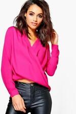 Maglie e camicie da donna rosi manica lunghi Taglia 40