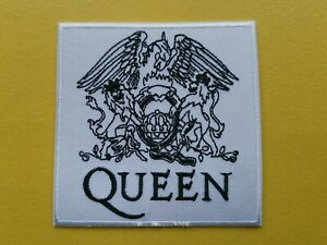 Queen Patch Embroidered Iron On Or Sew On Badge