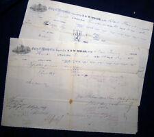 1862 CIVIL WAR BARK FANNIE TRINIDAD SUGAR CARGO CAPTAIN HERRICK