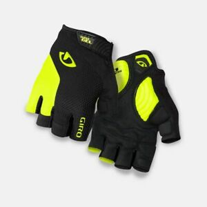 New Men's Giro Stradedure Supergel SG Cycling Bike Gloves XL (10) HiVis/Black