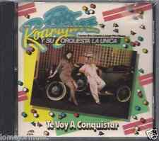 rare SALSA cd FOTO RODRIGUEZ y su ORQUESTA LA UNICA te voy a conquistar ALMOHADA