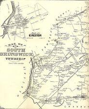 South Brunswick  Monmouth Junction  Dayton NJ 1876 Maps  Homeowners Names Shown