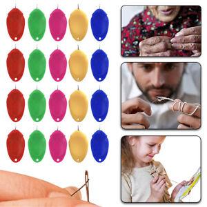 5-20 pcs Needle Threader Plastic Craft Tool Sewing Machine Supply Thread Machine