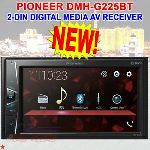 "NEW PIONEER 2-DIN 6.2"" TOUCHSCREEN DIGITAL MEDIA USB BLUETOOTH CAR STEREO AV NEW"