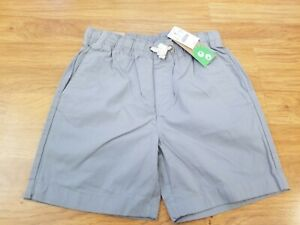 NWT $39.50! J.Crew Crewcuts Boys Pull-On Short Fog Khaki - Size10