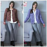 James C Brett DK  knitting pattern JB177 Ladies Jacket 28-46 ins