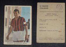 ***SIDAM CALCIO 1961/62*** ZAGATTI (MILAN)