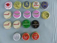 Lot de 22 capsules de bière NEUVES , jamais utilisés GRANAT 12 CUMBY DUVEL