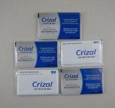 5 Crizal Full Sized Sealed Microfiber Cleaning Cloth Lens Eyeglasses Phone Camer