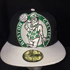 New Era Hardwood Classics Fitted Boston Celtics 59fifty Sz 7 1/4 Hat Cap