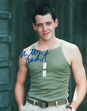 "Mathew Broderick Autographed 8"": X 10"" Color Photo AUTHENTICATED TOP PIX"