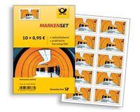 10 X € 0,95 Selbstklebend DE- Post Briefmarken Ideal für WARENSENDUNG München Ma