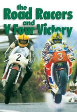 THE ROAD RACERS AND V FOUR VICTORY DVD. JOEY DUNLOP, TT. 135 Min. DUKE 1033NV