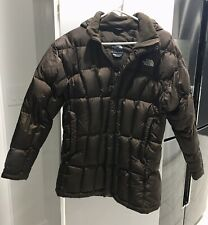 North Face Winter Jacket 🧥 550 Down Feather Hooded Puffer Girls Xl women's Xs