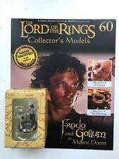 Señor De Los Anillos Colección Edición 60 Frodo & Gollum EAGLEMOSS FIGURA + la revista