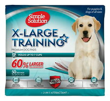 Simple Solution Training Pads for Dogs, Extra Large, 50 Count