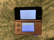 Nintendo 3DS Pink + one game 24 Hr Listing