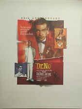 JAMES BOND DR. NO OFFICIAL  LIMITED EDITION LITHOGRAPH-FREE SHIPPING IN USA