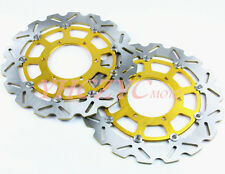 Front Brake Disc Rotor Fit Suzuki GSXR600 08-2009 GSXR750 GSXR1000 09-14 K9 OO