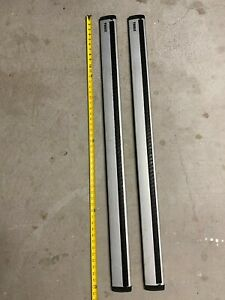 """THULE ARB47 47"""" AeroBlade 2x 119cm Load Bars (Bars Only) - used, great condition"""