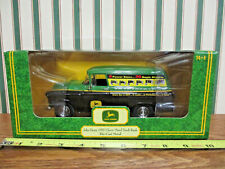John Deere 20 Series Tractors 1957 Chevy Panel Bank By Ertl 1/25th Scale