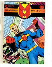 Miracleman # 4 VF/NM Eclipse Comic Book Alan Moore Alan Davis 1st Print J339