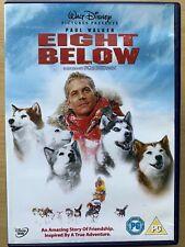 Eight Below DVD 8 2006 Walt Disney Family Husky Adventure with Paul Walker
