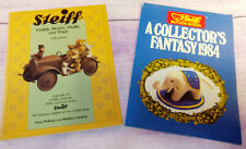 Steiff Teddy Bears Animals Dolls Toys Identification Price Guides Books Vintage