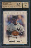 1996 Leaf Signature Bronze Autograph Auto Mariano Rivera BGS 9.5 / 10 Auto GEM