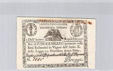 ITALIE 2 1/2 PAOLI AN 7 (1798) N° 1885 PICK S 536